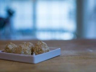 Lemon-Coconut Protein Balls