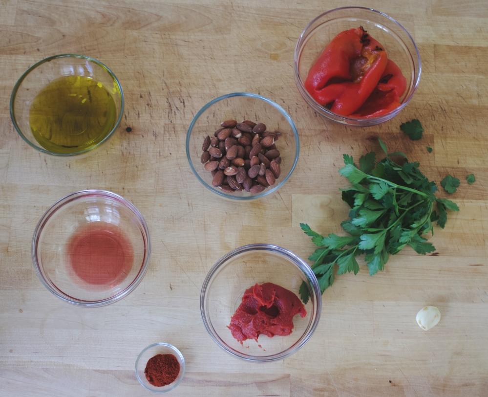 Romesco Ingredients